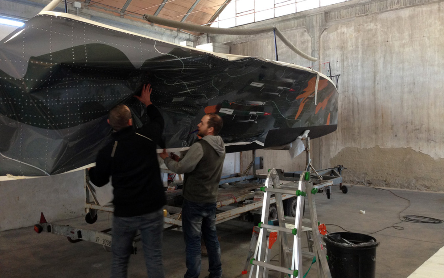 Boat Wrapping